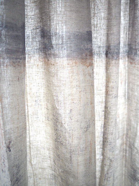 メゾン レヴィ Maison Levy リネンカーテン マルチクロス Curtain Linen・LA CAIDA(W143xH200cm・1枚)