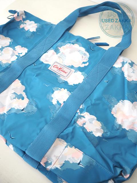 『USED ZAKKA』Cath Kidston キャスキッドソン Foldaway Overnight Bag・フォルダウェイ オーバーナイトバッグ/Cloud