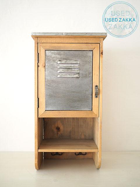 『USED ZAKKA』Urban Outfitters アーバン アウトフィッターズ 木製シェルフ WOOD METAL SHELF(W26.5xD17xH50.8cm)