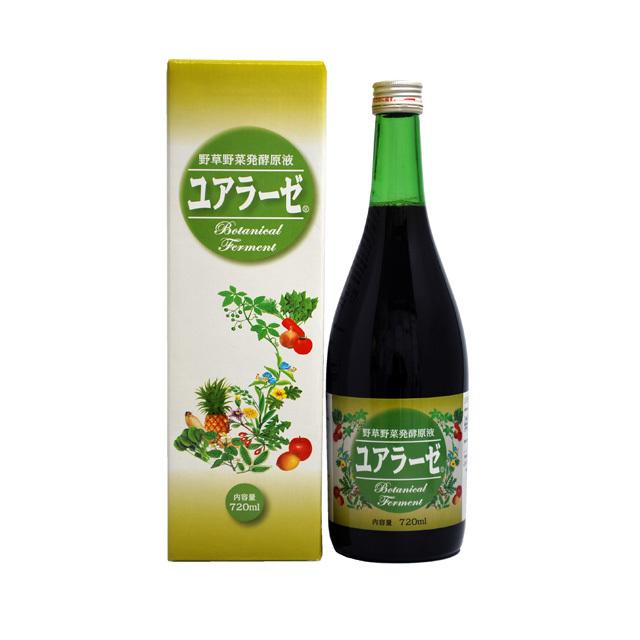【送料無料】酵素飲料 野草野菜発酵原液ユアラーゼ  ミヤトウ野草研究所 720ml
