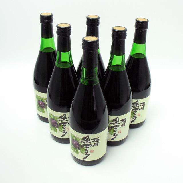 [6本セット] [送料無料] 発酵酵素 黒ざくろジュース 720ml