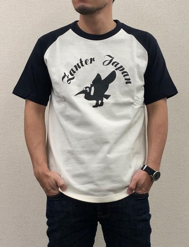 ZJラグラン半袖Tシャツ