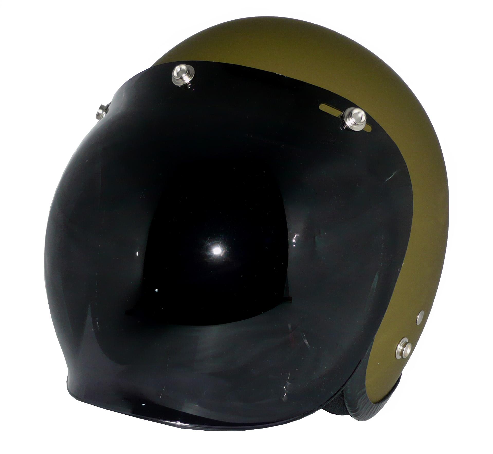 ZK-300(内装外して洗える!)スモールジェット(マットオリーブグリーン)+ダークスモークバブル   全排気量対応