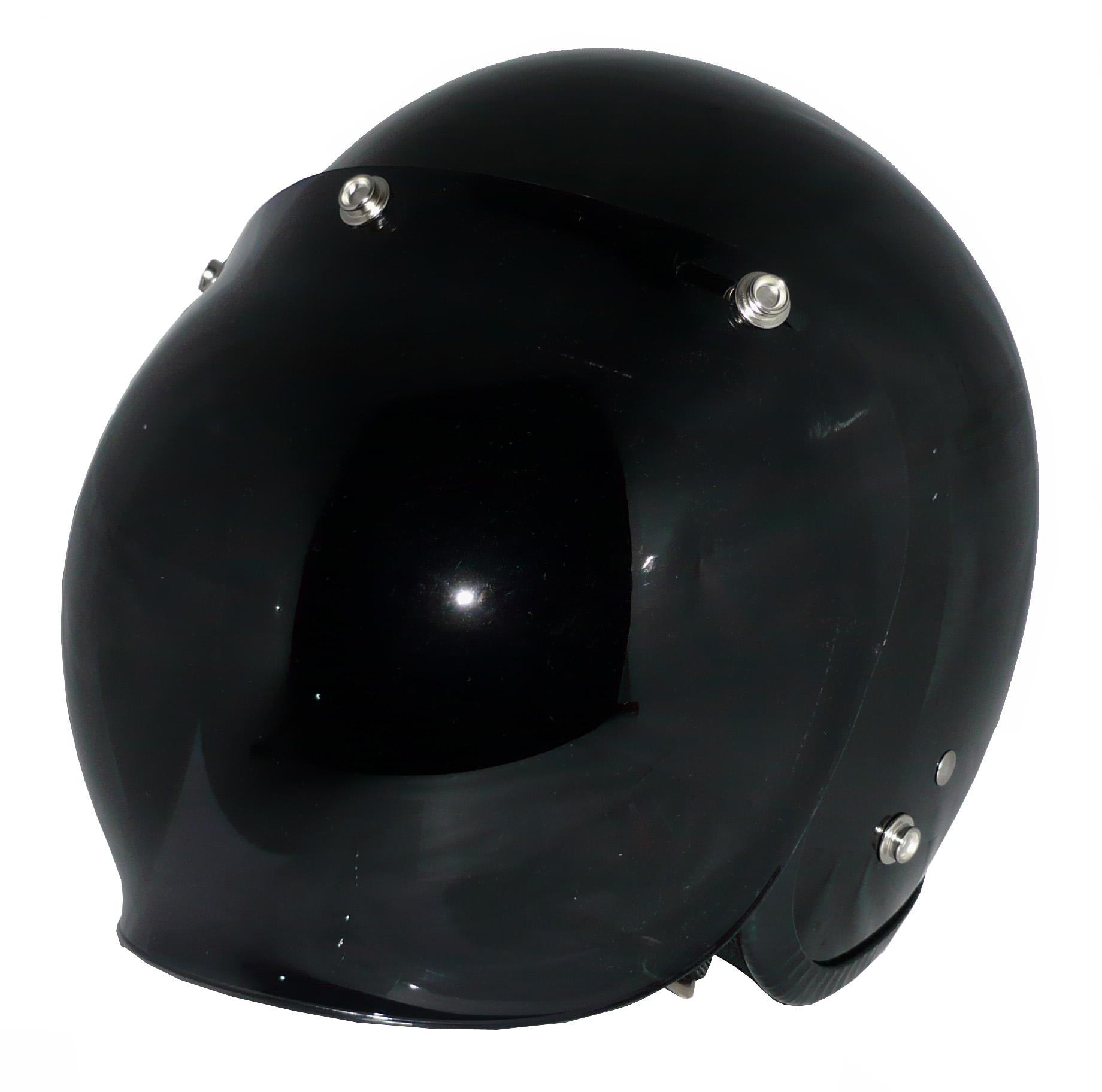 ZK-300(内装外して洗える!)スモールジェット(ブラック)+ダークスモークバブル   全排気量対応