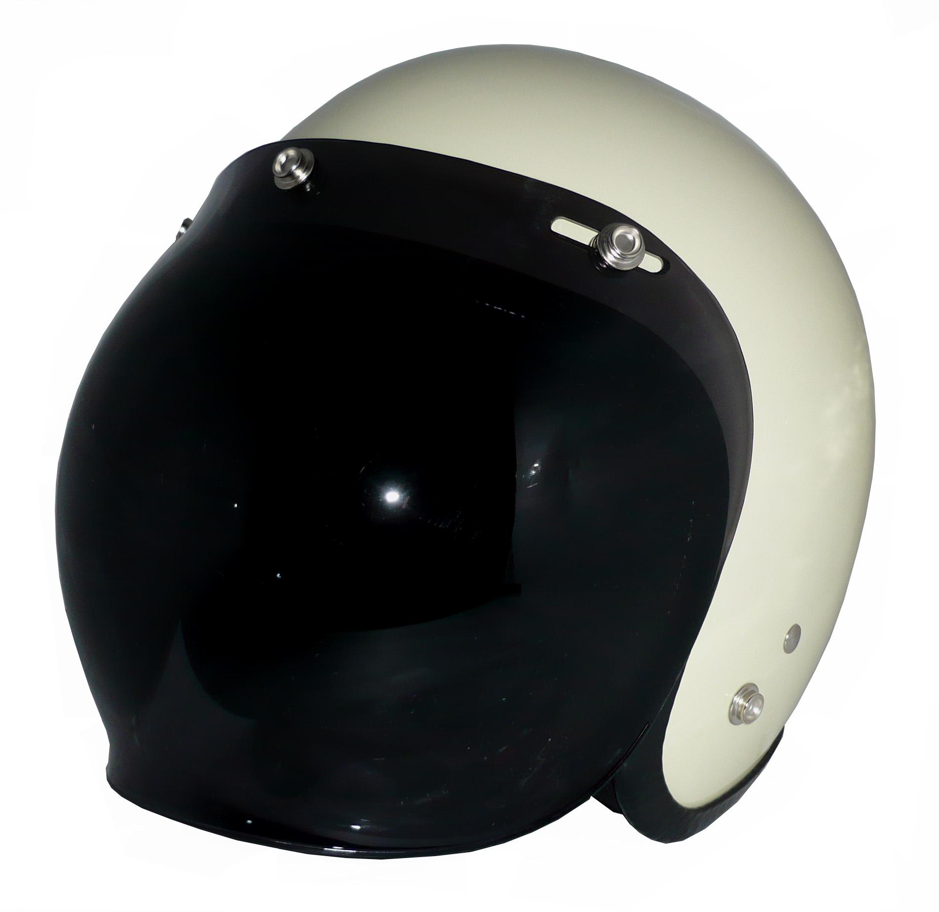 ZK-300(内装外して洗える!)スモールジェット(アイボリー)+ダークスモークバブル   全排気量対応