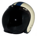 ZK-300(内装外して洗える!)スモールジェット(アイボリー/ネイビー)+ダークスモークバブル   全排気量対応