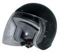 ZK-400 ジェットヘルメット(ブラック) SG公認  全排気量対応