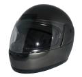 ZK-500 フルフェイスヘルメット(ガンメタ) SG公認  全排気量対応 UVカット・ハードコートシールド&ベンチレータ