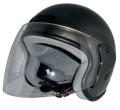 ZK-400 ジェットヘルメット(ガンメタ)  SG公認  全排気量対応 UVカット・ハードコートシールド&ベンチレータ