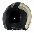 ZK-300(内装外して洗える!)スモールジェット(アイボリー/ネイビー)+スモークバブル   全排気量対応