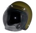 ZK-300(内装外して洗える!)スモールジェット(マットオリーブグリーン)+スモークバブル   全排気量対応