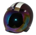 ZK-300(内装外して洗える!)スモールジェット(ブラウン/アイボリー)+レインボーバブル   全排気量対応