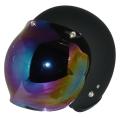 ZK-300(内装外して洗える!)スモールジェット(マットブラック)+レインボーバブル   全排気量対応