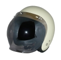 ZK-300(内装外して洗える!)スモールジェット(アイボリー)+スモークミラーバブル   全排気量対応