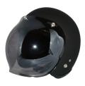 ZK-300(内装外して洗える!)スモールジェット(マットブラック)+スモークミラーバブル   全排気量対応