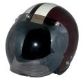 ZK-300(内装外して洗える!)スモールジェット(ブラウン/アイボリー)+スモークミラーバブル   全排気量対応