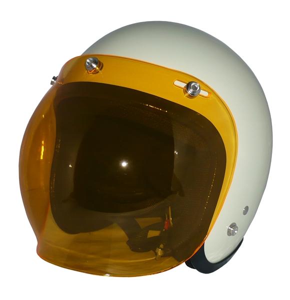 ZK-300(内装外して洗える!)スモールジェット(アイボリー)+アンバーバブル   全排気量対応
