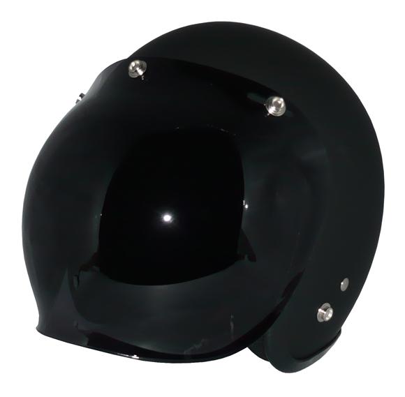 ZK-300(内装外して洗える!)スモールジェット(マットブラック)+ダークスモークバブル   全排気量対応