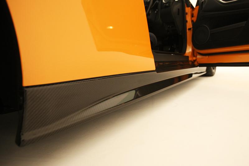 ZELE R35GT-R カーボンサイドスカートセット