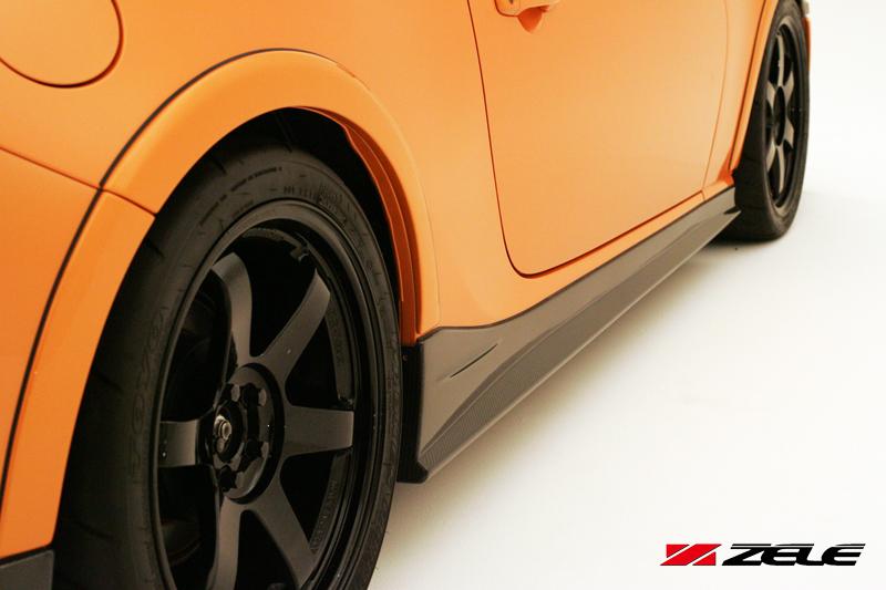ZELE 86/BRZ サイドスカートセットFRP(塗装済)