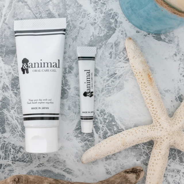 and animal アンド アニマル 歯磨きジェル Toothpaste Gel