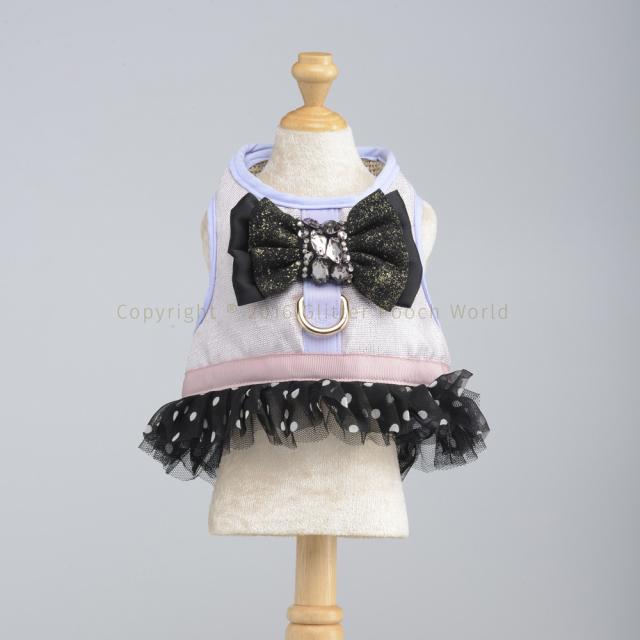 GLITTER POOCH グリッター・プーチ black-diamond