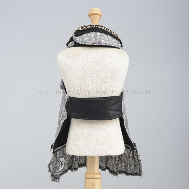 GLITTER POOCH グリッター・プーチ classy-coco-black