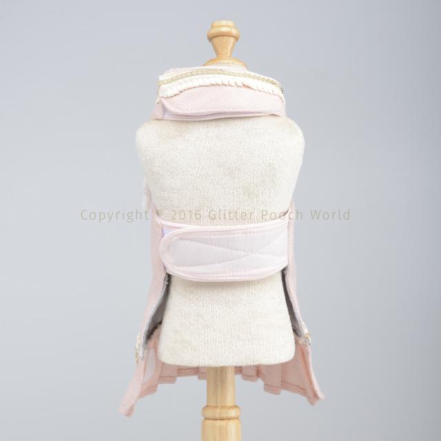 GLITTER POOCH グリッター・プーチ classy-coco-pink