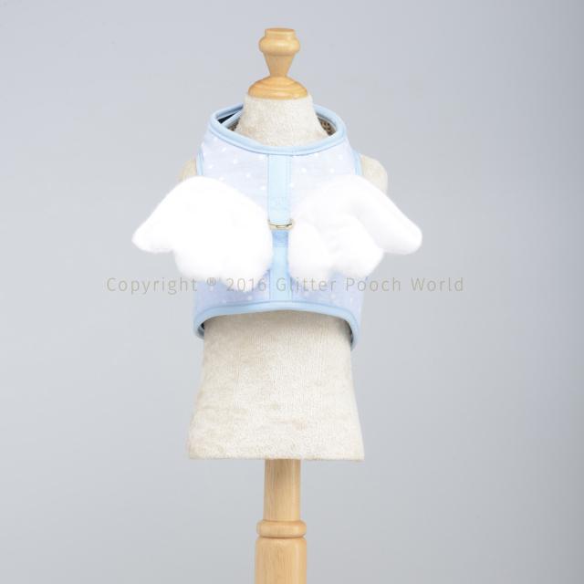 GLITTER POOCH グリッター・プーチ dotty-angel-blue