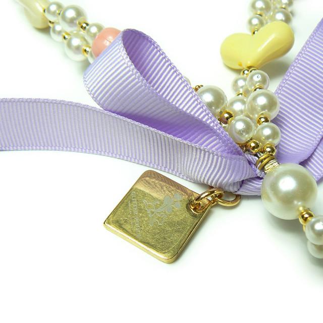 GLITTER POOCH グリッター・プーチ リード リーシュ love-pearl-leash