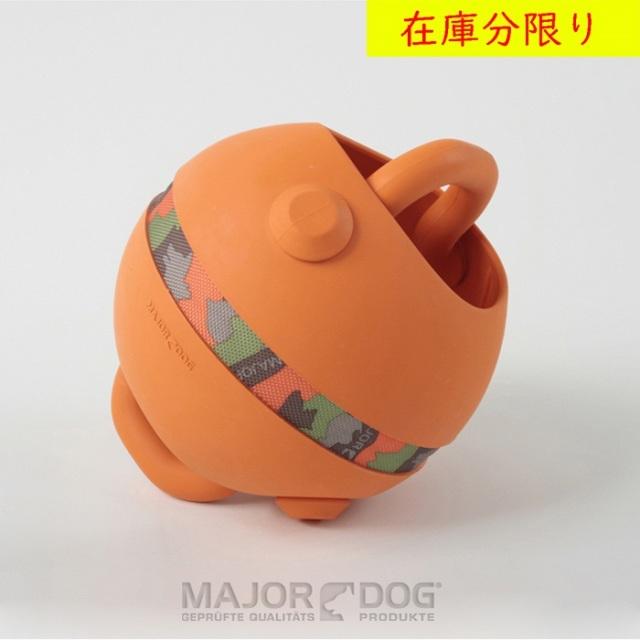 犬のおもちゃ MAJOR DOG 天然ゴム キングボール /