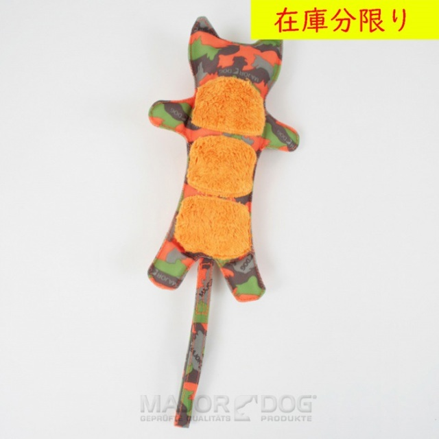 犬のおもちゃ MAJOR DOG 特殊生地 タイガー /