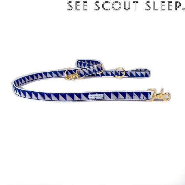 アジャスタブルリード See Scout Sleep / Nice Grill / ネイビー×クールグレー×クリーム