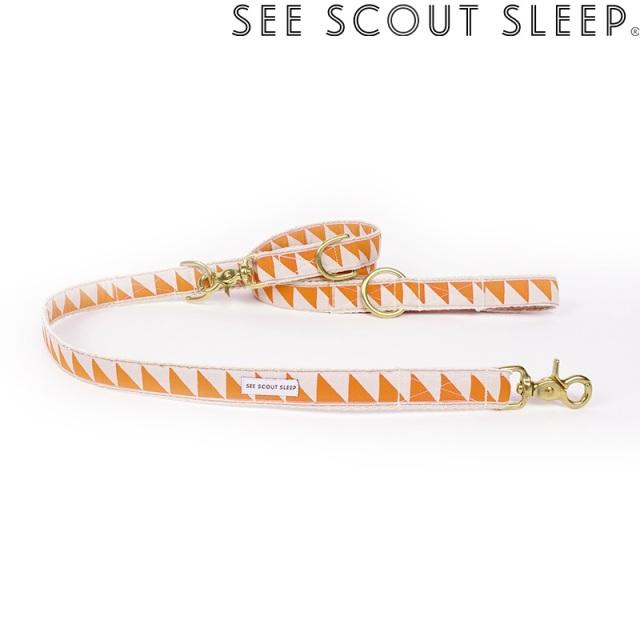 アジャスタブルリード See Scout Sleep / Nice Grill / タンジェリン×クリーム