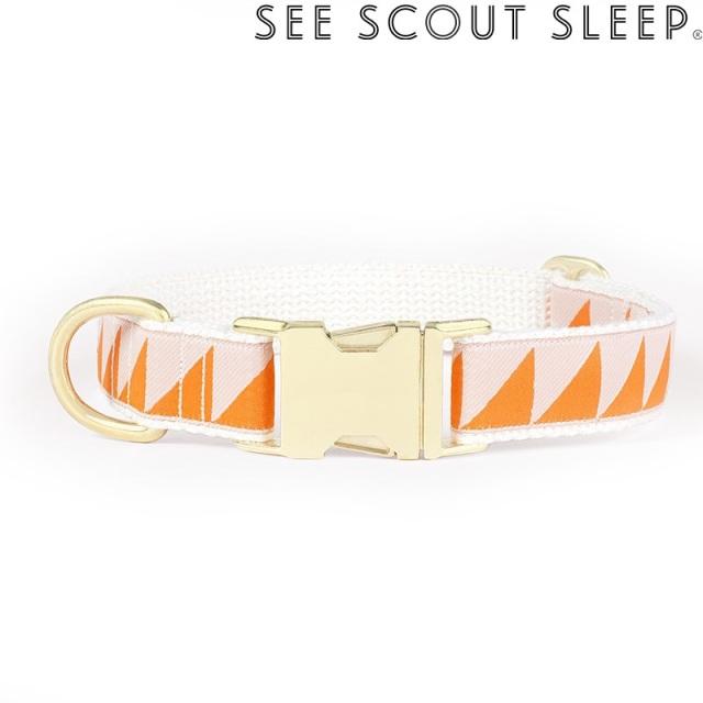 首輪 See Scout Sleep  / Nice Grill / タンジェリン×クリーム