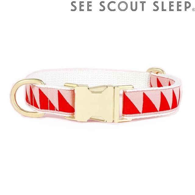 首輪 See Scout Sleep / Nice Grill / クリーム×バーミリオン