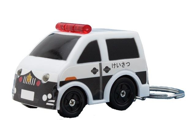 サイレンパトカー  キーホルダー ボタンを押すとサイレンが鳴りライト点燈