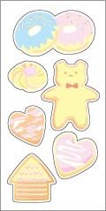 Reflector sticker 【クッキー】 反射 リフレクター ステッカー シール