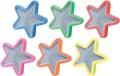 反射 スポークデコレーション 星型 【6個セット】 スポークリフレクター メール便可