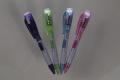 100本アソート(ブルーなし3色) 防災用 ライト付き LED ボールペン