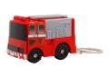 100個セット サイレン消防車  キーホルダー ボタンを押すとサイレンが鳴りライト点燈