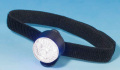 マジックテープで簡単装着 スーパークリップライト ストロング+腕章 白