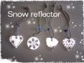 大人の おしゃれな リフレクター Glitteringly Snow 【限定品】【メール便可】
