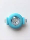 【100個セット】 LED シリコンライト バンド付 ウォーキング 防犯 交通安全 点燈・点滅 【送料無料】