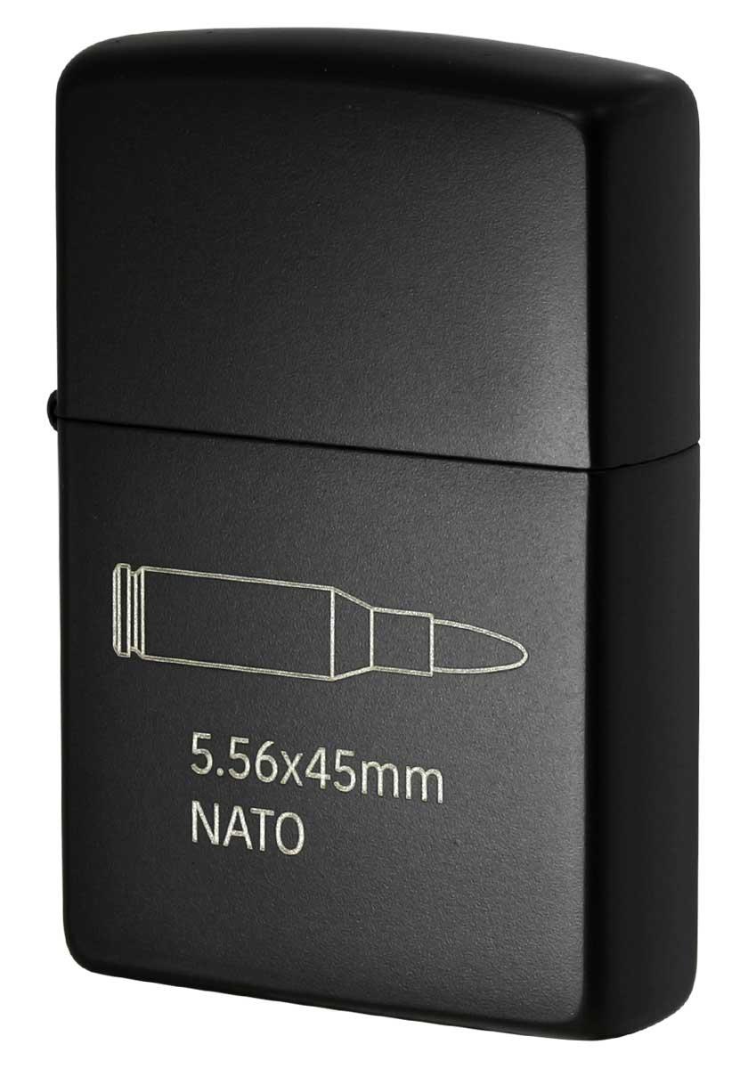 Zippo ジッポー CERAKOTE BULLET セラコート ビュレット NATO BLACK 63470198