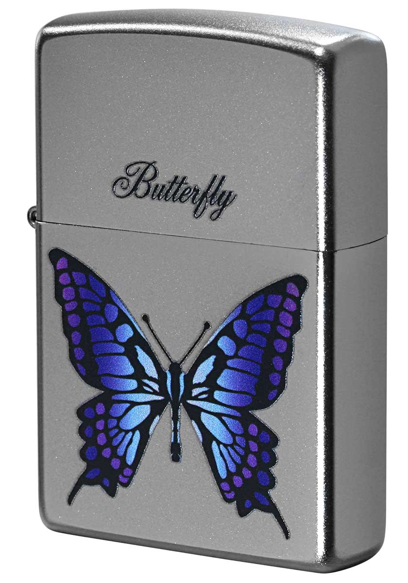 Zippo ジッポー Processing in USA Butterfly Z205-411670 メール便可