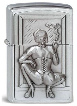 ヨーロッパ直輸入Zippo ジッポー Smoking Woman 1300127 メール便可