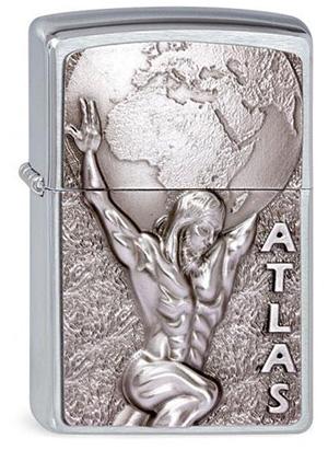 ヨーロッパ直輸入Zippo ジッポー Atlas 2003184 メール便可