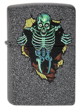 ヨーロッパ直輸入Zippo ジッポー Skull Wall 2003837 メール便可
