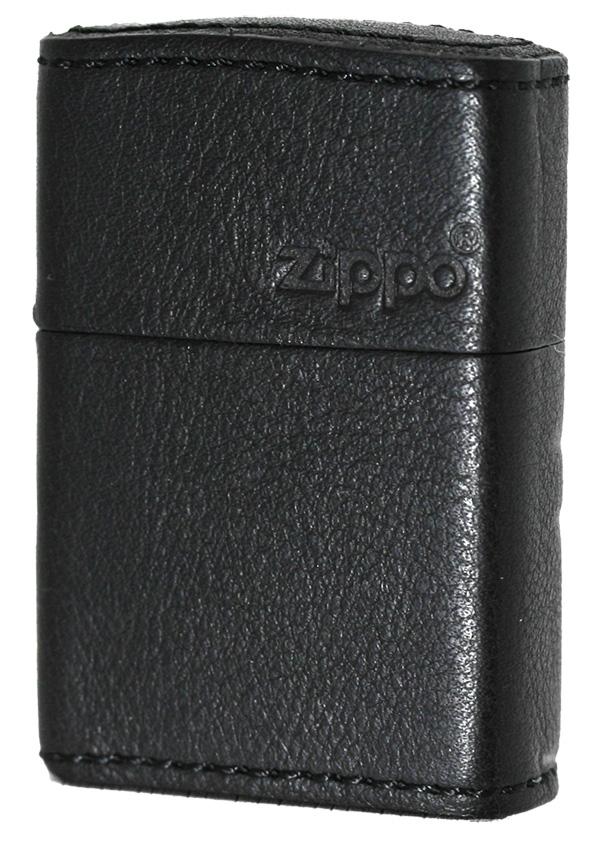 Zippo ジッポー レザーZLG BK(1201S507)